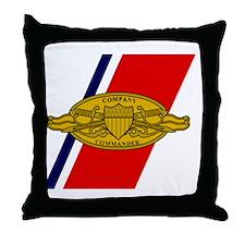 USCG-Company-Commander-Calendar.gif Throw Pillow