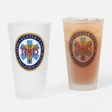 USCG-TraCen-Cape-May-Health-Service Drinking Glass