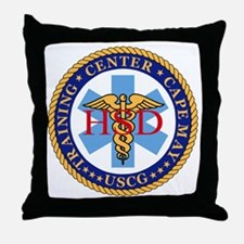 USCG-TraCen-Cape-May-Health-Services- Throw Pillow