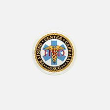 USCG-TraCen-Cp-My-Health-Services-Blac Mini Button