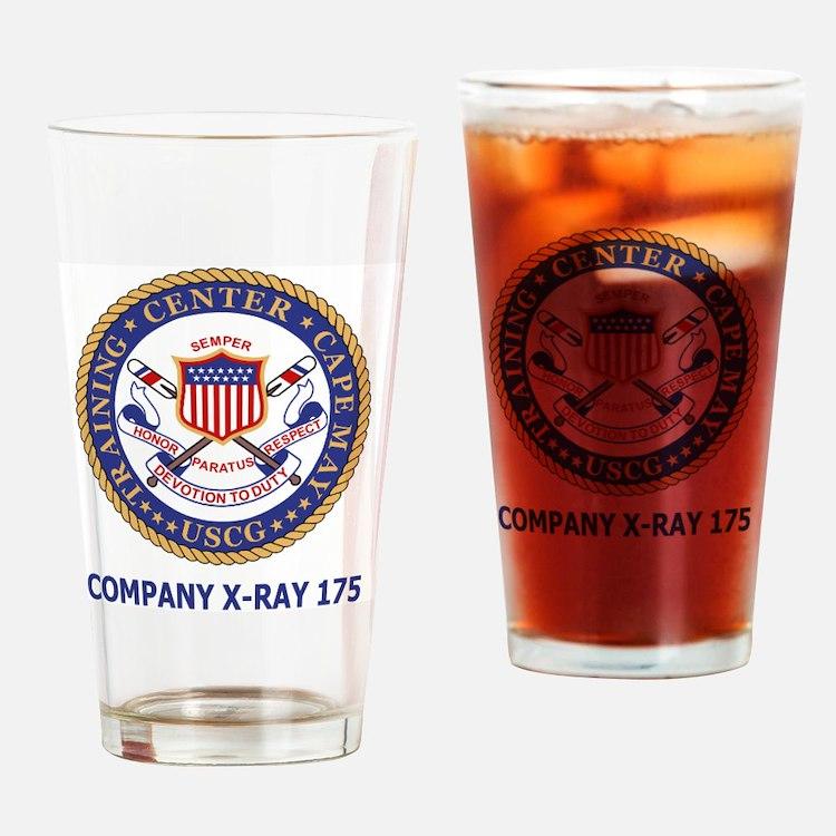 USCG-Recruit-Co-X175-Shirt-2.gif Drinking Glass