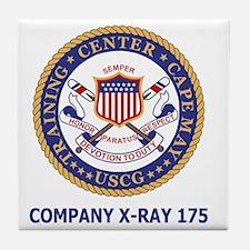 USCG-Recruit-Co-X175-Shirt-2.gif Tile Coaster