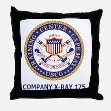 USCG-Recruit-Co-X175-Shirt-2.gif Throw Pillow
