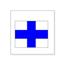 "USCG-Recruit-Co-X175.gif Square Sticker 3"" x 3"""