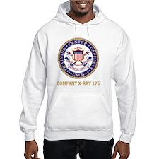 USCG-Recruit-X175-Black-Shirt Hoodie