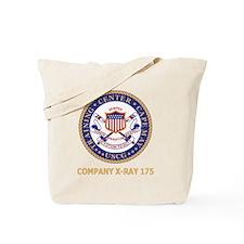 USCG-Recruit-X175-Black-Shirt Tote Bag