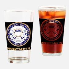 USCG-Recruit-Co-X175-Blue-Shirt.gif Drinking Glass