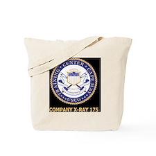 USCG-Recruit-Co-X175-Blue-Shirt.gif Tote Bag