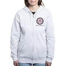USCG-Recruit-Co-Y175-Shirt-2.gi Zip Hoodie
