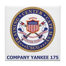 USCG-Recruit-Co-Y175-Shirt-2.gif Tile Coaster