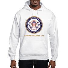 USCG-Recruit-Y175-Black-Shirt Hoodie