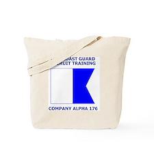 USCG-Recruit-Co-A176-Shirt-1.gif Tote Bag