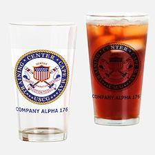 USCG-Recruit-Co-A176-Shirt-2.gif Drinking Glass