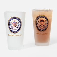 USCG-Recruit-A176-Black-Shirt Drinking Glass