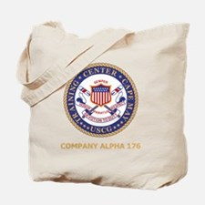 USCG-Recruit-A176-Black-Shirt Tote Bag