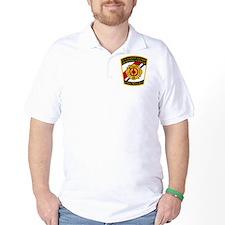 3-USCG-TRACEN-CpMy-Fire-Dept-Black-Shir T-Shirt