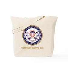USCG-Recruit-B176-Black-Shirt Tote Bag