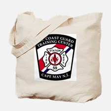 USCG-TRACEN-CpMy-Fire-Dept-Messenger.gif Tote Bag