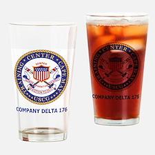 USCG-Recruit-Co-D176-Shirt-2.gif Drinking Glass