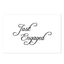 Just Engaged Postcards (Package of 8)