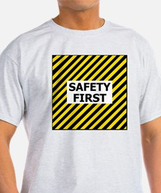 Safety-First-Tile.gif T-Shirt