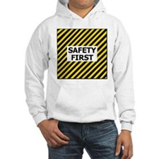 Safety-First-Tile.gif Hoodie