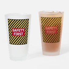3-Safety-First-Tile.gif Drinking Glass