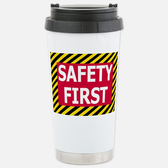 Safety-First-Magnet.gif Stainless Steel Travel Mug