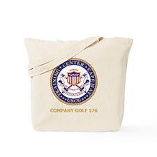 USCG-Recruit-G176-Black-Shirt Tote Bag