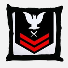 Navy-YN2-Blues.gif Throw Pillow