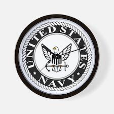 navy-logo-15-sn.gif Wall Clock