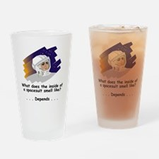 NASA-Spacesuit-Smells.gif Drinking Glass