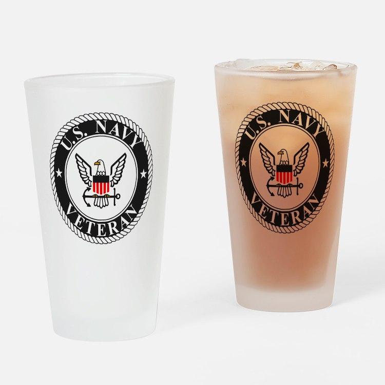 Navy-Veteran-Bonnie-3.gif Drinking Glass