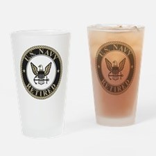 Navy-Retired-Bonnie-5.gif Drinking Glass