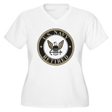 Navy-Retired-Bonn T-Shirt