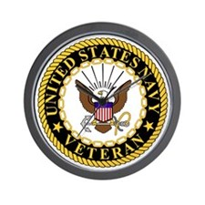 Navy-Veteran-Bonnie-5.gif Wall Clock