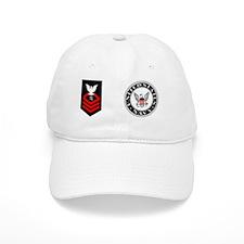 Navy-ITC-Mug-R.gif Baseball Cap