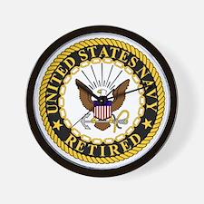 Navy-Retired-Bonnie-7.gif Wall Clock