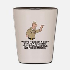 Navy-Humor-Life-On-A-Ship-Khaki.gif Shot Glass
