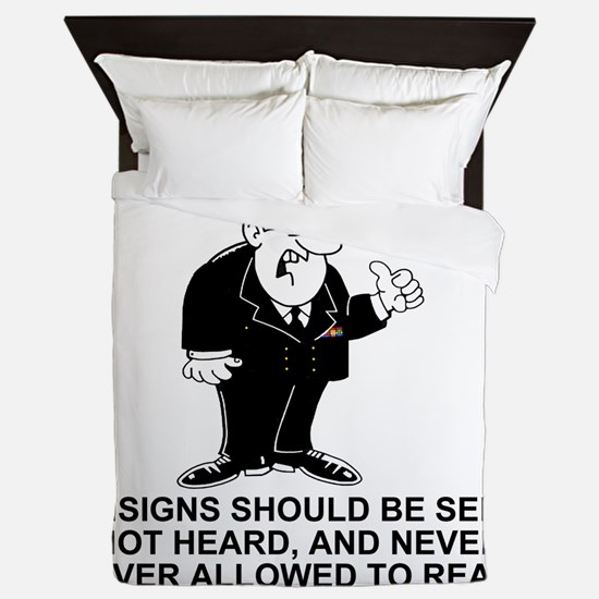Navy-Humor-Ensigns-Right-Sleeve.gif Queen Duvet