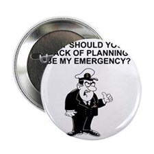 "Navy-Humor-Lack-Of-Planning-Right-Sle 2.25"" Button"