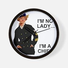 Navy-Humor-Im-A-Chief-G.gif Wall Clock