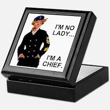 Navy-Humor-Im-A-Chief-G.gif Keepsake Box
