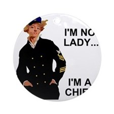 Navy-Humor-Im-A-Chief-G.gif Round Ornament
