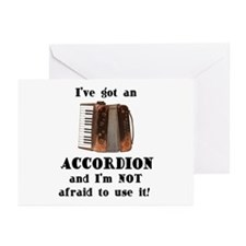 I've Got an Accordion Greeting Cards (Pk of 10