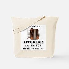 I've Got an Accordion Tote Bag