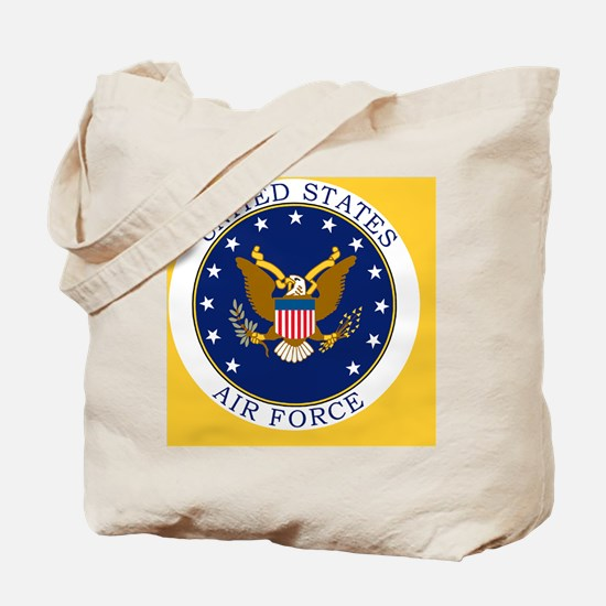USAF-Patch-3-Button.gif Tote Bag