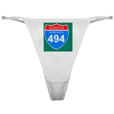 Sign-Minnesota-Interstate-494-Magnet Classic Thong