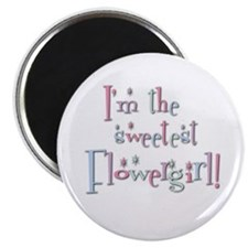 Sweetest Flower Girl Magnet