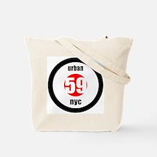 Urban Rebal NYC BullsEye Logo Tote Bag